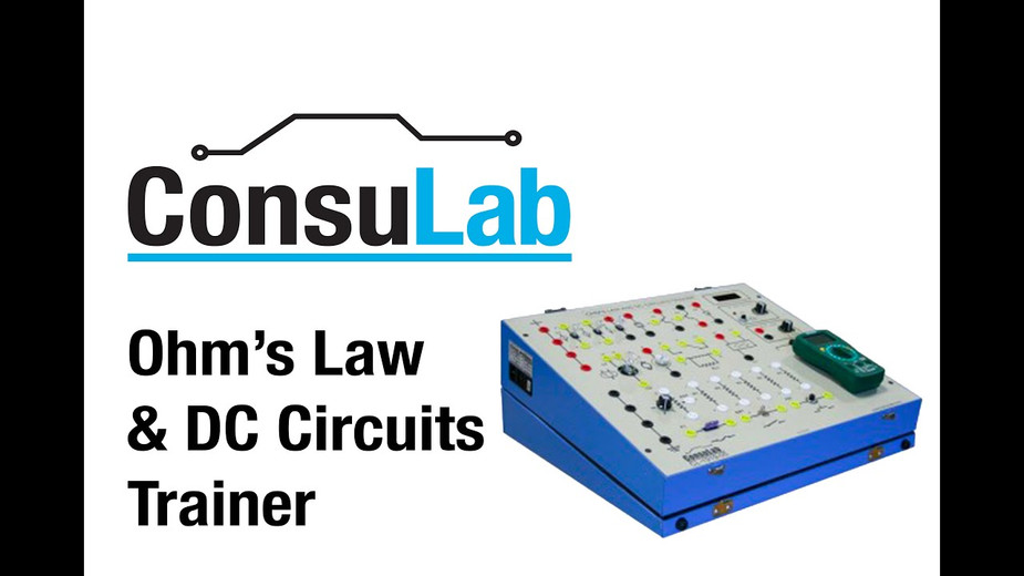 CL-1919-05 Ohm's Law & DC Circuits Trainer