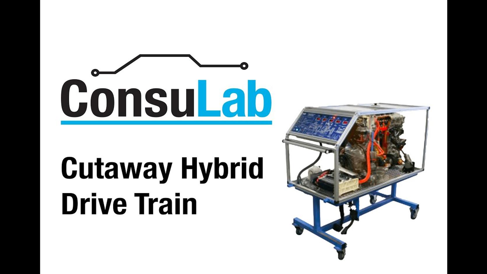 EM-140H Toyota Hybrid Engine System Cutaway Trainer