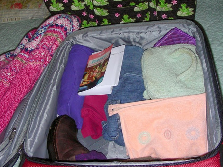 Organize That Traveling Suitcase