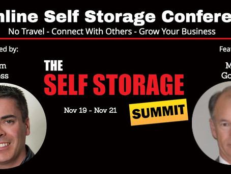 October 2019 -The Best Way to Learn About Self Storage!