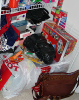 Gift Storage Organization