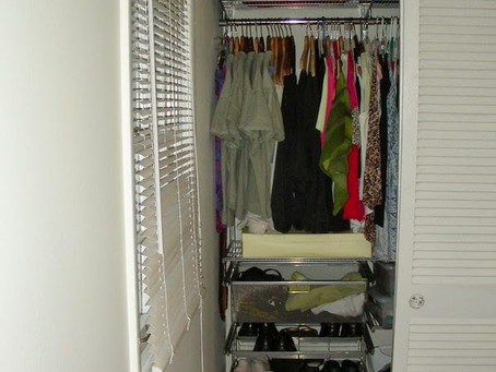 Taming the Closet Clutter