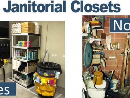 The janitor's closet