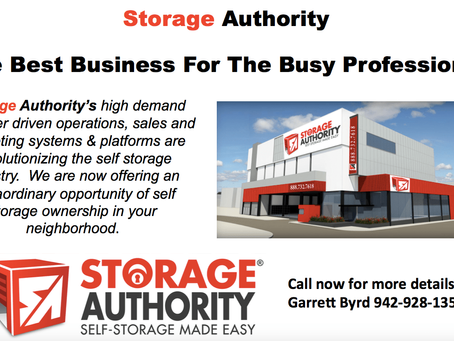 How to get started with Storage Authority!