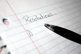 Making New Year's Resolutions