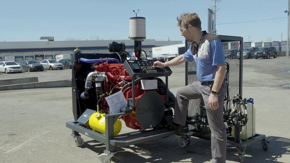 HV-950 B6.7L Cummins 6.7L Diesel Engine Bench Trainer