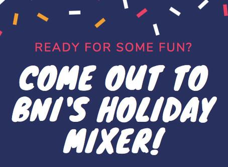 Post Holiday Networking Mixer