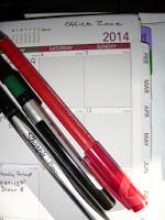Organizing Your 2014 Calendar