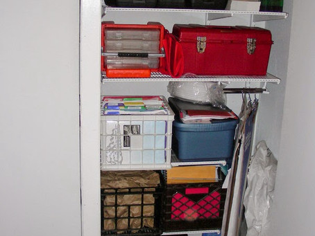 Organizing Storage Containers