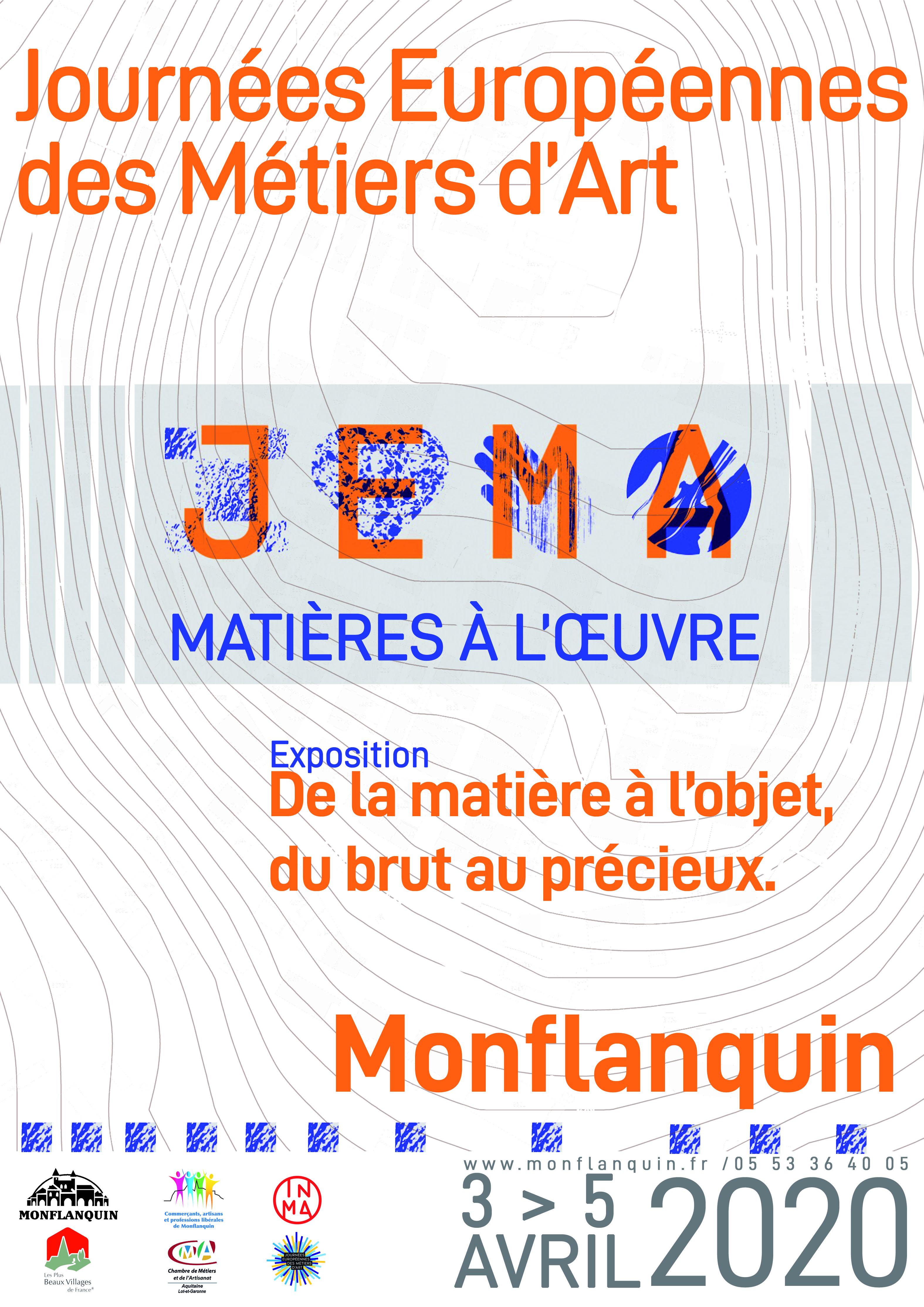 Affiche A3 JEMA 2020