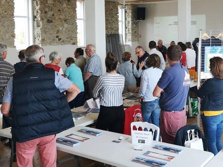 Soirée organisée par l'office de tourisme Iroise Bretagne