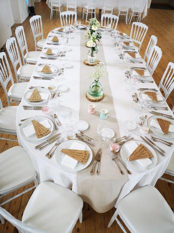 Table d'honneur gélule