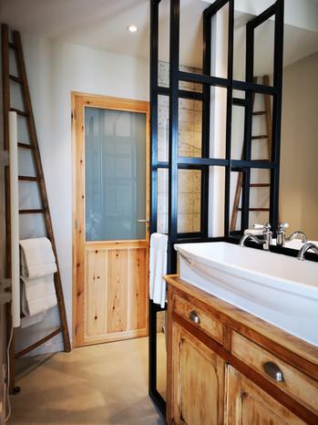 Salle de douche de l'Îlot