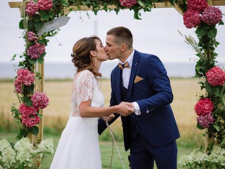 Les mariages du mois de juillet 2020