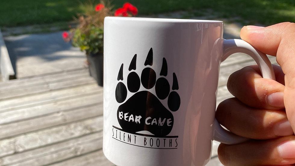 Bear Cave Silent Booth Mug