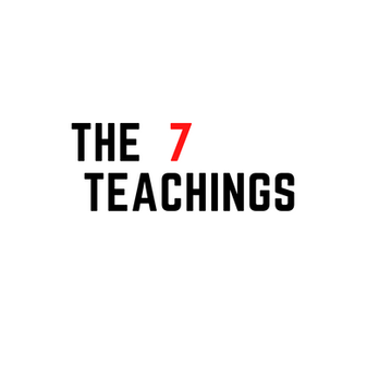 The 7 teachings are sacred teachings that were lived and handed down. They were gifts that were given to us through creation.