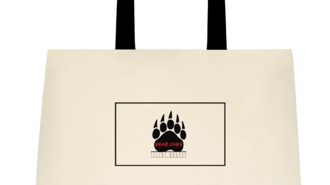 Bear Cave Silent Booth Tote