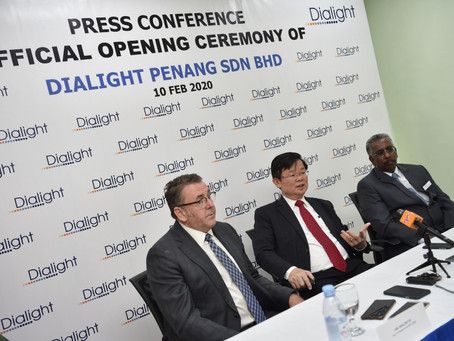 Dialight opens new manufacturing facility in Penang