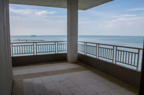 large balcony in master suites