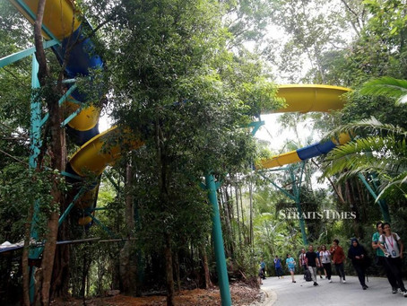 World's longest water slide to open in Penang in August