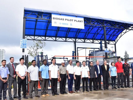 Penang's first food waste-to-energy biogas pilot plant launched