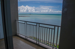 sea facing from balcony