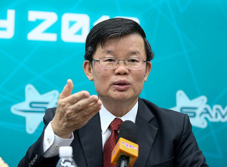 Building airport on man-made island will keep it in Penang, says CM