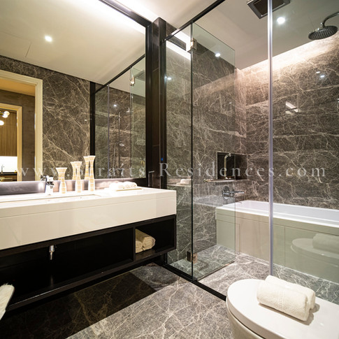 Luxury well fitted bathroom