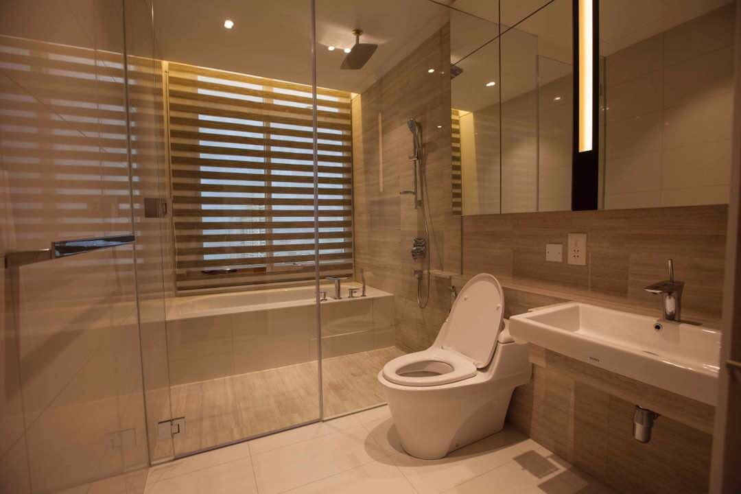 主人套房的浴室