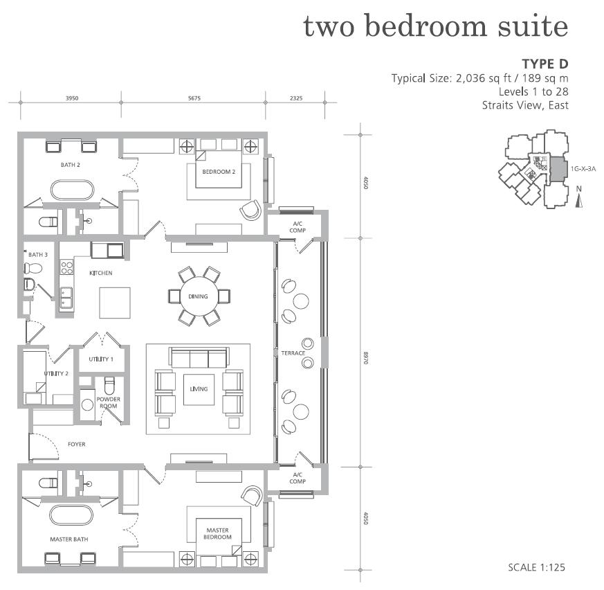樓盤 D - 2,036 平方呎