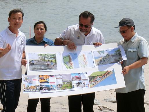 槟葛尼水岸填海工程 40英亩地段料9月竣工
