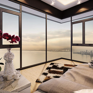 View of Master Suites