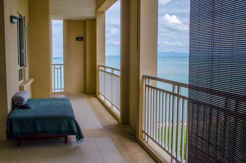 main balcony