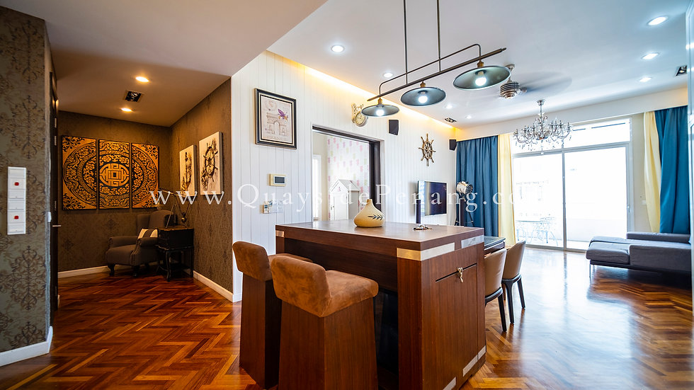 Quayside - 1+1 beds | 1,515 sq ft