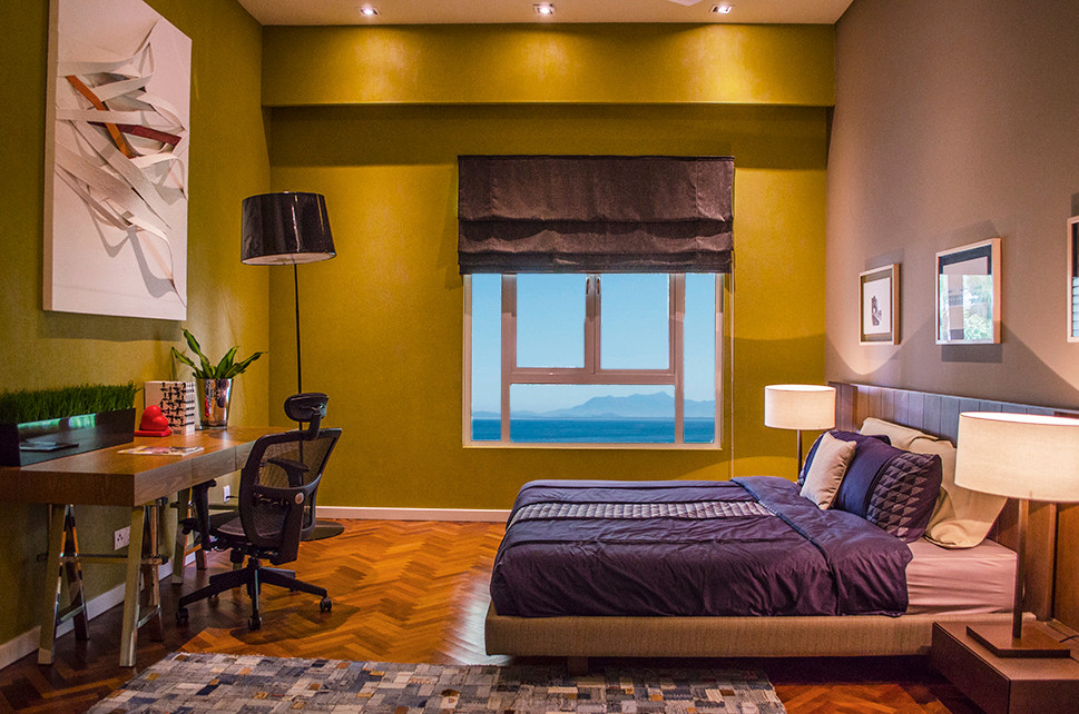 bedroom with direct seaview