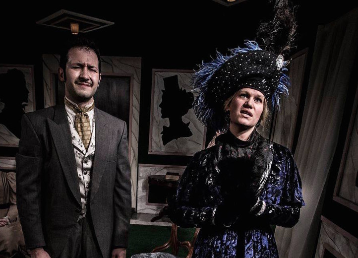 """Lady Bracknell in """"The Importance of Being Earnest"""""""