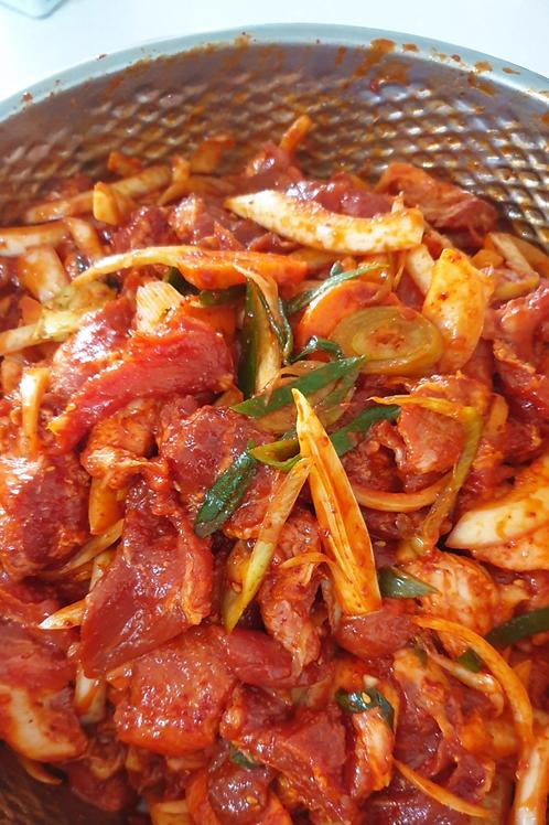 제육 Zeyuk 500g (ohne Gemüse)
