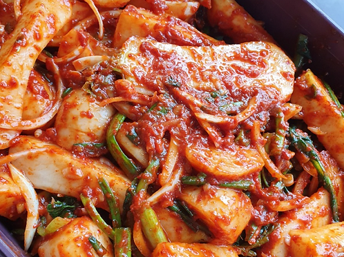 총각김치 Kimchi aus Jungrettich 200g
