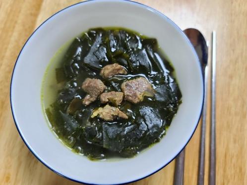 소고기미역국 Seetangsuppe mit Rindfleisch 1kg