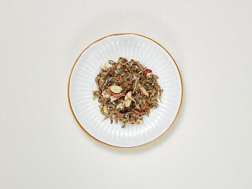 아몬드멸치볶음 Gebratene Sardellen mit Mandeln 100g