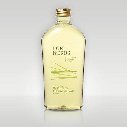 Масло массажное для тела Pure Herbs De-stressing Massage Oil
