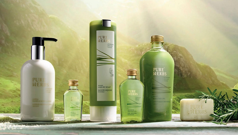 Pure Herbs (Made in Germany) Spa collection