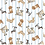 Thumbnail: Michael Miller's 'Paws up; dog friendly' fabric