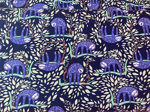 Sloth cotton fabric, Swaying Sloths Serene Cotton From Selva By Art Gallery Fabr
