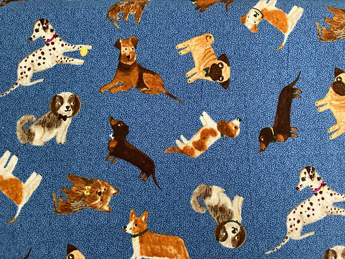 Uptown from Clothworks dog fabric