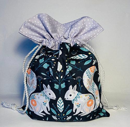 Eco friendly reusable gift bags, Dashwood studios fabric