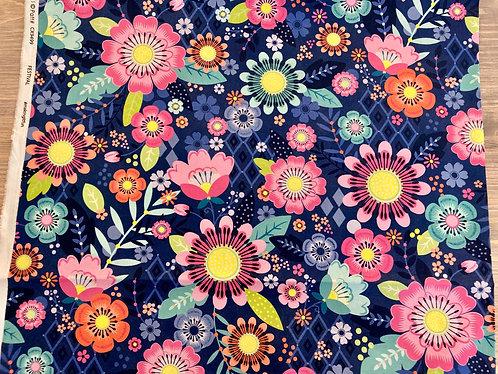Michael Miller's Festival floral print fabric