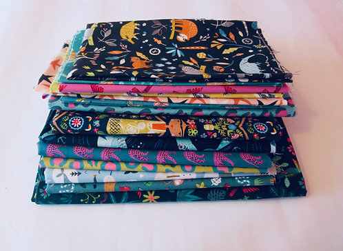 Fat quarter bundle of Dashwood studio fabrics!