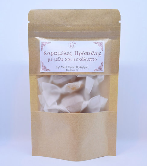 Cough drops with Honey and Eucalyptus