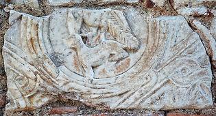 2. Τμῆμα βυζαντινοῦ θωρακίου ἀπό το